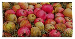 Durnitzhofer Apples Beach Towel by Ditz