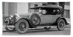 Dusenberg Car Circa 1923 Beach Towel