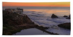 Dusk At Sutro Baths Beach Sheet