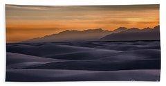 Dusk At White Sands Beach Towel