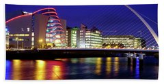 Dusk In Dublin Beach Towel