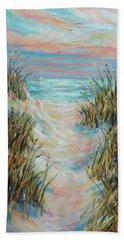 Dusk Pathway Beach Towel