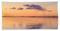 Beach Towel featuring the photograph Dusky Dream by Ray Warren