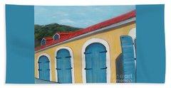 Dutch Doors Of St. Thomas Beach Sheet