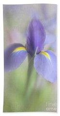 Dutch Iris Beach Towel