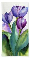 Dutch Tulips Beach Towel
