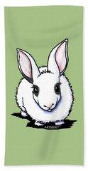 Dwarf Hotot Bunny Rabbit Beach Sheet