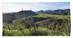 Beach Sheet featuring the photograph Dynamic California Landscape by Matt Harang
