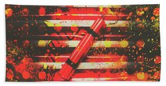 Dynamite Artwork Beach Towel