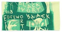 E Cd Green Beach Towel