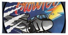 Ea-6b Prowler Beach Towel