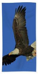 Eagle Diving Beach Towel