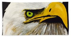 Eagle Eye Beach Towel