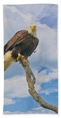 Eagle Eyes Beach Towel