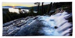 Eagle Falls At Emerald Bay Beach Sheet