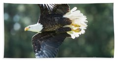 Eagle Flying 3005 Beach Towel