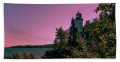 Eagle Harbor Fading Light Beach Towel