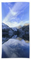 Eagle Lake Dawn Beach Towel