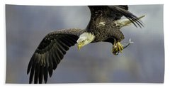 Eagle Power Dive Beach Towel