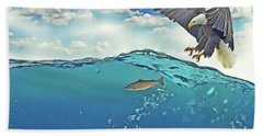 Eaglenfish Beach Towel