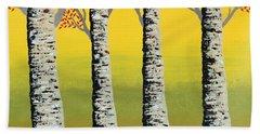 Early Autumn Beach Towel by Sumit Mehndiratta