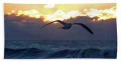 Early Bird Beach Towel
