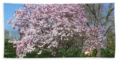Early Blooms Beach Towel
