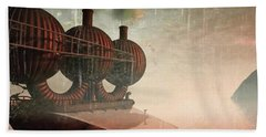 Steampunk Beach Towels