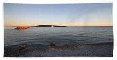 Early Evening On Mackinac Island Beach Towel
