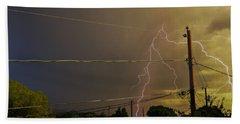 Early Evening Storm Beach Sheet