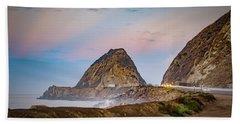 Early Morning At Mugu Rock Beach Towel