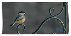 Early Morning At The Feeder Beach Towel