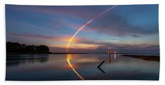 Early Morning Launch Beach Towel
