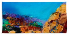 Early Morning Over The Canyon Beach Towel
