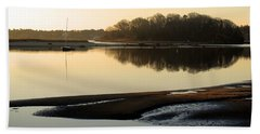Early Morning Reflections  Beach Towel