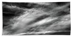 Early Morning Sky. Beach Towel by Terence Davis