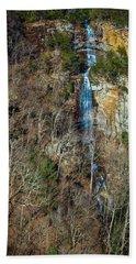 Early  Spring Waterfall  Beach Towel