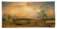 Early Spring Storm Beach Towel