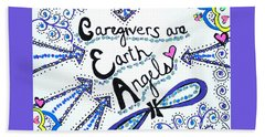 Earth Angel Beach Towel