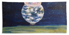 Earth Aura Beach Towel