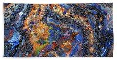 Earth Gems #18w01 Beach Towel