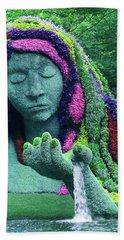 Earth Goddess Beach Towel