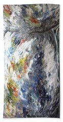 Earth Latte Stone Beach Towel