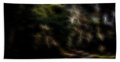Earth Lights 1 Beach Towel by William Horden
