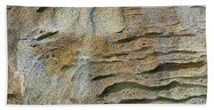 Beach Towel featuring the photograph Earth Memories-sleeping River # 2 by Ed Hall