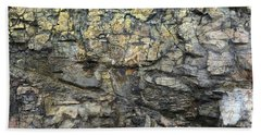 Beach Towel featuring the photograph Earth Memories - Stone # 6 by Ed Hall