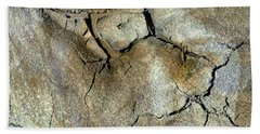 Beach Towel featuring the photograph Earth Memories-thirsty Earth by Ed Hall
