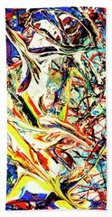 Earth Quaked Beach Towel
