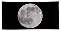 Earth's Moon Beach Towel