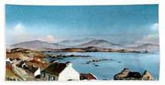 East End, Inishboffin, Galway Beach Towel